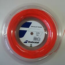 New BabolaT RPM BLAST ROUGH 125/17 200M Reel Tennis String, Fluo Red