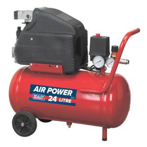 Sealey SA2415 Compressor 24ltr Direct Drive 1.5hp SUM21