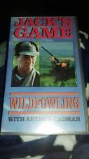 jack's game wildfowling with arthur cadman vhs video charlton shooting hunting