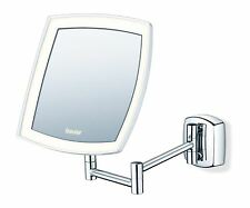 Beurer BS89 Illuminated Wall-Mounted LED Cosmetics Mirror 5x Magnification
