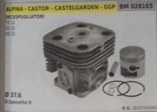 1830700004 PISTON CYLINDER COMPLETE TRIMMER CASTELGARDEN TB SB XB 32
