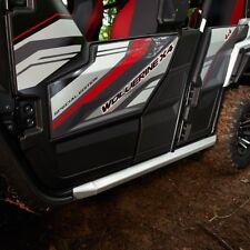 Yamaha Wolverine X4 Rock Slider Kit Frame Rails Sliders OEM BG4-F11D0-V0-00