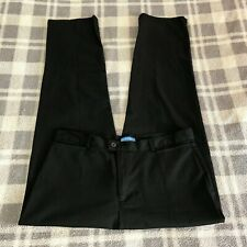 Women's DOCKERS' Black Favorite Fit  Stretch Jeans Career SIZE 16 Inseam 31