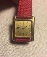Omega Vintage Gold Plated & Stainless Wind Up Ladies Watch