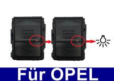 2x carcasa para llaves Cubierta Para Opel Meriva Astra Corsa C COMBO