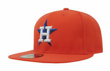 sports shoes 51a63 5f194 Houston Astros Orange on Field Era 59fifty Fitted 7 1 8 Hat Adult Performanc