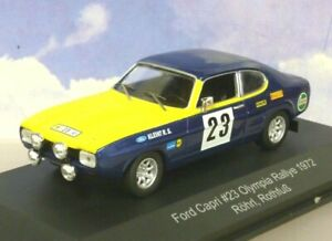 CMR 1/43 FORD CAPRI 2600 MK1 OLYMPIA RALLYE RALLY 1972 W.ROHRL/H.ROTHFUSS WRC012