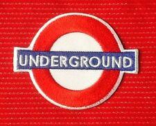 LONDON CITY UNDERGROUND SOUVENIR ENGLAND THE TUBE UK BADGE IRON SEW ON PATCH