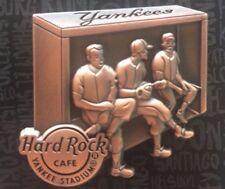 2017 HARD ROCK CAFE NEW YORK YANKEE STADIUM YANKEES DUGOUT LE PIN