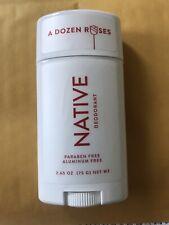 Native Deodorant A Dozen Roses 2.65 oz Limited Edition