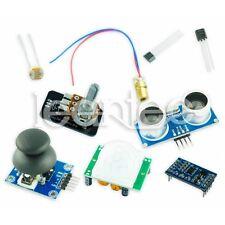 SENSOR KIT BASIC. FOR ARDUINO HC-SR04 LDR MMA7361 JOYSTICK LM35 PIR HC-SR501