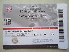 TICKET DFB Pokal 2009/10 FC Bayern München - Greuther Fürth