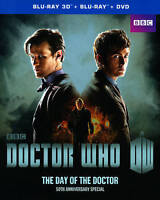 Doctor Who: The Day of the Doctor (3D Blu-ray/Blu-ray, DVD, 2-Disc, *DISCS ONLY*