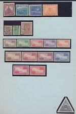 XC14730 Nepal 1949 -1954 mixed thematics fine lot used