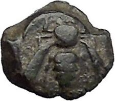 EPESUS Ephesos IONIA 405BC Bee Stag's Head Authentic Ancient Greek Coin i48239
