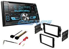 NEW KENWOOD CAR STEREO SIRIUS XM RADIO W/ USB/AUX INPUTS & DASH KIT & BLUETOOTH