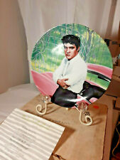 Elvis At The Gates Of Graceland Delphi collector plate Elvis Presley Coa 1988