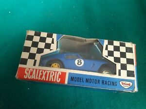 BOXED VINTAGE TRIANG SCALEXTRIC C69 FERRARI GT  60'S MODEL RACING CAR