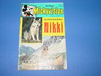 Mickyvision Nr.5, Nikki, Walt Disney Comic Heft, Ehapa Verlag,1963
