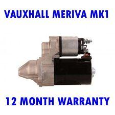 Fits Vauxhall meriva mk1 mk I 1.6 1.8 MPV 2003 2004 2005  - 2010 starter motor