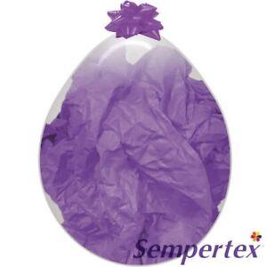 "5 X 18"" Sempertex Clear Stuffing Balloons"
