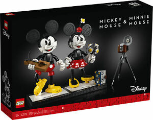 LEGO ǀ Disney Mickey Mouse & Minnie Mouse Buildable Characters (43179) Building