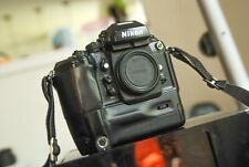 Nikon F4 camera body with batteries