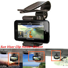 Car Sun Visor Clip Holder Mount Stand for phone iPhone 6/6S Plus Galaxy S7 HTC