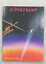 Supertramp Famous Last Words Music Song Book 1982 Delicate 68 pages Vtg Rare
