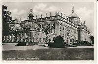 """Ansichtskarte Potsdam - Sanssouci - """"Neues Palais"""" Karte von 1939 - schwarz/weiß"""