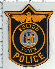 Bolton Police (New York) Shoulder Patch from the Early 1980's