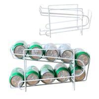 Soda Coke Beverage Dispenser Storage Rack Holder Organizer, 10_Cans
