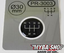 1x Schalthebel Silikon Aufkleber für Schaltknauf 3D Sticker | ∅=30mm | PR-3003