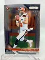 2018 Panini Prizm BAKER MAYFIELD #201 Rookie RC Browns