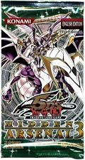 Yugioh Hidden Arsenal 3 Booster Pack Unlimited Edition Sealed Fast Shipping!