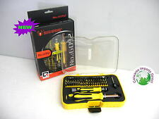 61 PIECE DRIVER SET MECHANIC TOOL SET KIT IN TOOL BOX FOR CAR BIKE BOAT HOME