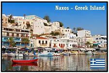 Naxos - Greco ISOLA - Negozio di Souvenir Magnete del frigorifero - NUOVO -