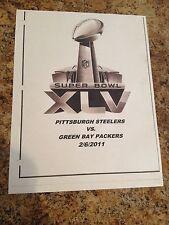 Pittsburgh Steelers NFL Football Steelers Packers Super Bowl Playbook On Disc
