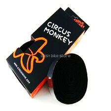 Circus Monkey EVA Handlebar Bar Tape Wrap Bar ROAD BIKE BLACK