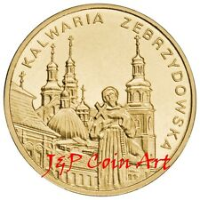 2010 Coin of Poland Polish  2zl Kalwaria Zebrzydowska