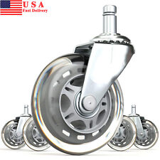 "12 Pack 2"" Swivel Caster w/ brake Wheels Hard Rubber Base (2"" w/ brake-12 pcs)"
