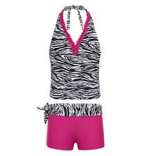 New listing Girls Kids Halter Swimsuit 50+ UPF Protection Swimwear Swimming Bathing Suits