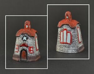 PEWTER HAND PAINTED THIMBLE - SCHOOL
