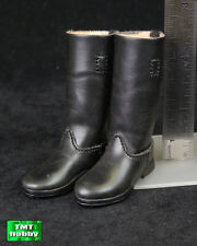 1:6 Scale DID WWII German Radio Operator D80095 - Leather-like Long Boots
