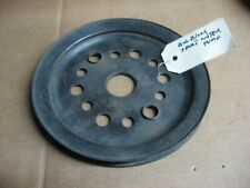 ORIGINAL GM BIG BLOCK SINGLE GROOVE CRANK PULLEY (SHORT WATERPUMP)