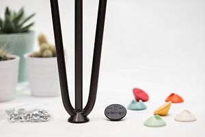 4 x Hairpin Leg Floor Protector Feet by The Hairpin Leg Co. - All Colours.