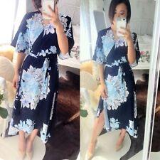 Floral Summer/Beach Wrap Dresses