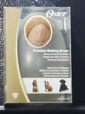 Oster Premium Dog-Cat-Pet Bathing And Grooming Brush-Deep Cleans & Massages