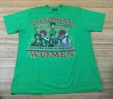 Vintage Phenomenal Black African American Women Shirt Fits XL Obama Rosa Parks