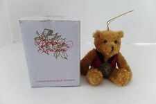 2002 Commemorative Bear Ornament Sagamore Hill 1902-2002 Midwest of Cannon Falls